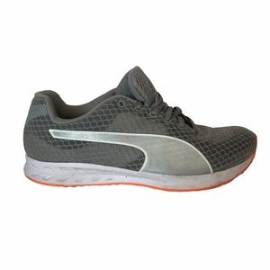 Puma Grey Athletic Casual Shoes 6